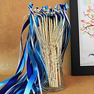 kongeblå bryllup bånd tryllestav - (sett av 10) peacock bryllup