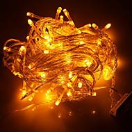 Luce della stringa di 100-LED 10M di Natale della decorazione di festa della luce gialla LED
