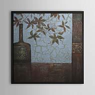 Still Life Framed Oil Painting Wall Art,PS Black No Mat With Frame Wall Art