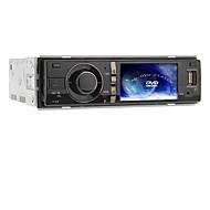 3 polegadas de tela TFT 1DIN no painel do carro DVD Player Suporte USB / SD, FM - 320