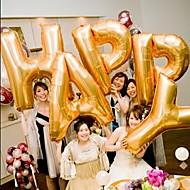 Gold Dopis Balloon