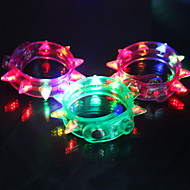 Flashing Bracelet - Set of 4 (More Colors)