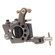 Professional Stainless Steel Tattoo Machine Gun 8 Wraps Coil Liner and Shader