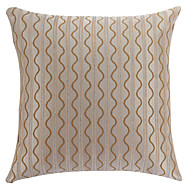 "18 ""Square Modern Bølgelinie og Stribet Polyester Dekorative Pillow Cover"