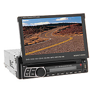 7 Inch 1Din TFT Screen In-Dash Car DVD Player Support BT,USB/SD,TV