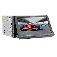"7 ""-Touchscreen 2 DIN In-Dash-LCD-Auto-DVD-Spieler mit Bluetooth, GPS, iPod-Eingang, RDS, Stereo-Radio"