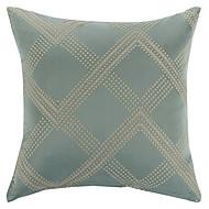 lutte contre ™ polyester taie d'oreiller géométrique moderne / contemporaine