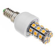 Lâmpada Espiga E14 6 W 530-560 LM 2500-3500 K Branco Quente 27 SMD 5050 AC 85-265 V