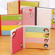 Collapsible Multiple Shapes Self-Stick Note(Random Color)