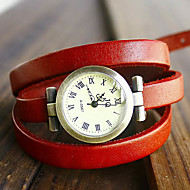Women's Watch Bohemian Multilayered Leather Bracelet Cool Watches Strap Watch Unique Watches Fashion Watch