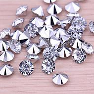 bryllupet innredning ganske diamant confetti - satt på 1000 stykker