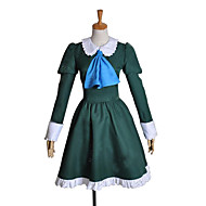 Ib Mary Green Dress Cosplay Costume