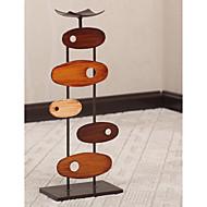 """18 """"Modern Art Style Oval Board Svícen"""