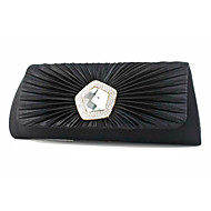 Women Silk Event/Party Evening Bag White / Beige / Red / Silver / Black