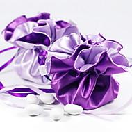 Reversible Grape & Lilac Stain Favor Taschen - Set von 12