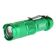 Sipik LED Flashlights/Torch / Handheld Flashlights/Torch LED 240 Lumens 1 Mode 5mm Lamp AA Everyday Use Aluminum alloy