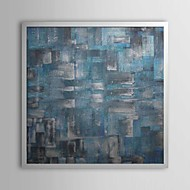 Abstract Framed Oil Painting Wall Art,PS White No Mat With Frame Wall Art