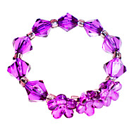 Incarnadin / Violet / Transparent Rond Ronds de serviettes