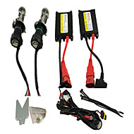 Slim Hid Kit Xenon Head Hight 9007 Bi Xenon H/L Beam Headlight 4300K