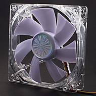 AK-FN055 12cm Weiß LED Quiet Fan mit 3-4 Pin Adapter für PC