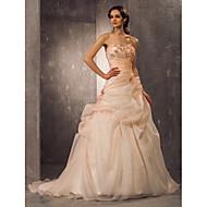 Lanting Bride® A-line / Princess Petite / Plus Sizes Wedding Dress - Classic & Timeless / Elegant & LuxuriousWedding Dresses in Color /