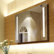 "27.5""H Contemporary Style Antifog With Light Wall Mirror"