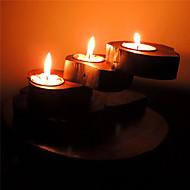 "6 ""Titular H estilo antigo criativo vela votiva"
