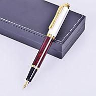 персонализированный подарок премиум деловой стиль коричневый металл выгравированы чернилами