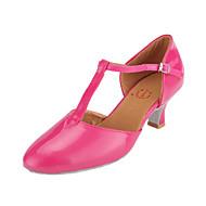 Sapatos de Dança Latina em Pele (Mais Cores)