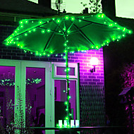 12M 100-אור LED RGB LED רצועת אור השמש לקישוטי חג המולד