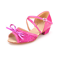 Kid's / Women's Leatherette Ankle StrapLatin / Performance Dance Shoes (More Colors)