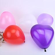 decoração do casamento do coração ballon - conjunto de 50 (mais cores)