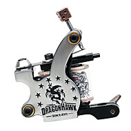 Cast Iron Dual kelat 8 Huivit Tattoo Machine Gun Liner