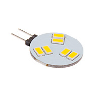 3W G4 LED Spotlight 6 SMD 5630 260 lm Warm White DC 12 V