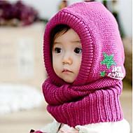 Barne Winter Øreklokker Sjal Hat