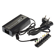 Universal Laptop Bil og Airplane 100W AC / DC-adapter 15V/16V/18V/19V/20V
