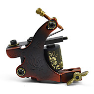 Casting Carbon Steel Dual Coils 8 Wraps Tattoo Machine Gun for Liner and Shader