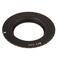 M42-EOS Camera Lens Adapter Ring with the 3rd Generation Chip (Black)