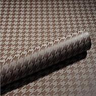Sólido Papel de Parede Para Casa Contemporâneo Revestimento de paredes , Téxtil Material adesivo necessário papel de parede , Cobertura