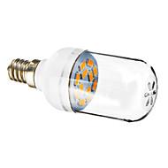 E12 1.5W 12x5730SMD 90-120LM 2800-3200K Warm White Light LED Spot Bulb (220-240V)