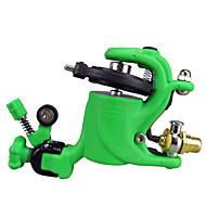Wire-skär Rotary Tattoo Machine för Liner och Shader (Grön)