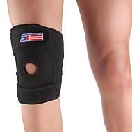 Sport réglable de soutien 4-printemps Brace Cap jambe genou Wrap Protector Pad - Taille libre