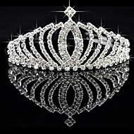 Lega splendido con strass ceco Wedding Tiara