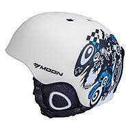 Casque Vélo (Blanc / Noir , EPS / PVC)-de Unisexe - Sports de neige / Sports d'hiver / Ski / Snowboard Sports Aération M : 55-59cm