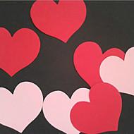 Tarjeta de papel del corazón Tag / Bookmark - Conjunto de 20 (más colores)