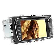 android4.4.4 7 polegadas carro dvd player para mondeo ford com canbus, gps, 3G, WiFi, multi-touch capacitiva, 1080p, tv