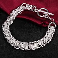 Berlock Armband Herr/Unisex/Dam Silver