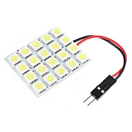 20 5050 White SMD LED Light Panel Car Interior Dome Lamp Bulb