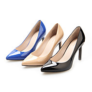 Leather Women's Stiletto Heel Heels Pumps/Heels Shoes(More Color)