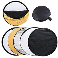 "43 ""110cm 5 in 1 Portable Fotografie Studio Multi Photo Disc Opvouwbare Light Reflector"